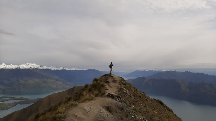 瓦納卡roys peak