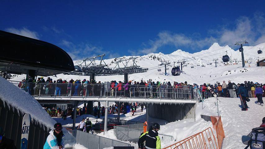 紐西蘭雪場打工驗票