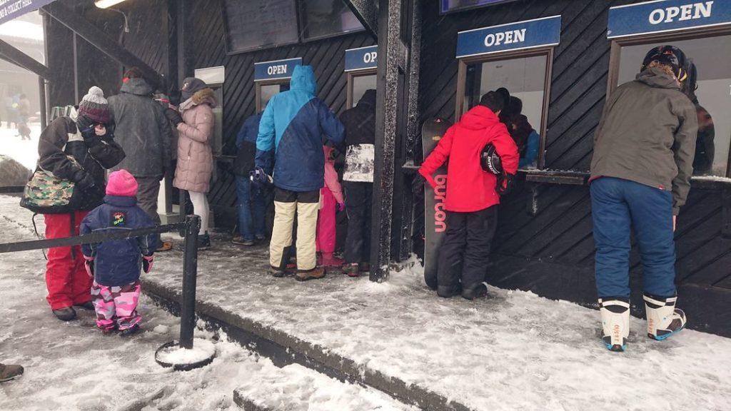 紐西蘭雪場工作賣票