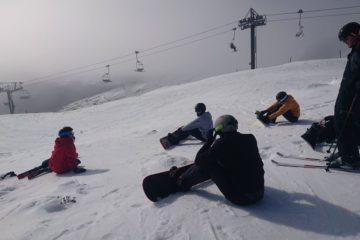 跟著滑雪教練Sophia一起去滑雪