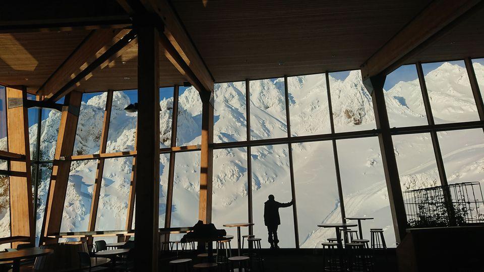 紐西蘭最高咖啡廳