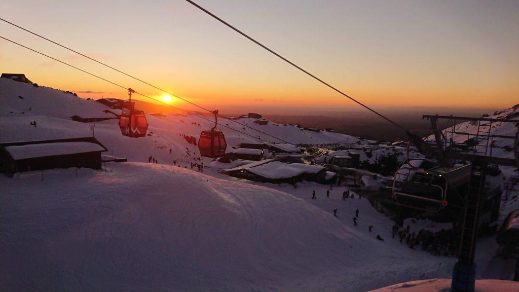 紐西蘭雪場滑雪