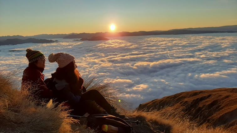 Roys peak sunrise