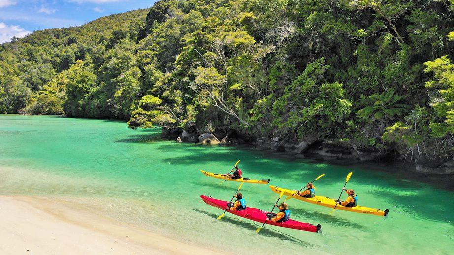 紐西蘭abel tasman 滑獨木舟