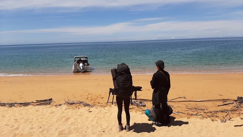 紐西蘭abel tasman 徒步健行